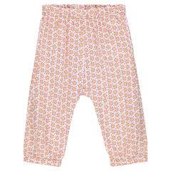Pantalon imprimé géométrique
