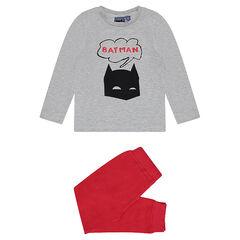 Pyjama bicolore en jersey BATMAN