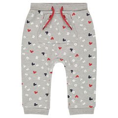 Pantalon de jogging en molleton avec imprimé all-over ©Disney Mickey