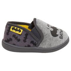 Lage elastische pantoffels met prints ©Warner Batman