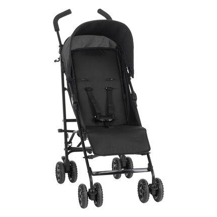 AVA Basic kantelbare kinderwagen - Zwart