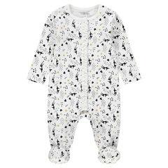 """Pyjama van jerseystof met fantasieprint """"all-over"""""""