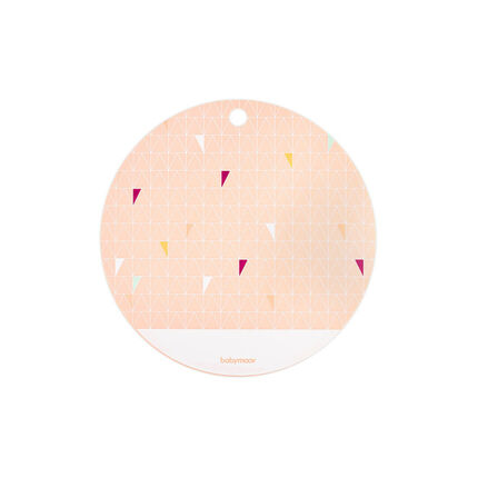 Silicon placemat - Peach