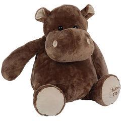 Peluche Hippo 38cm - Marron