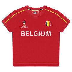 Tee-shirt manches courtes print BELGIUM - 2018 FIFA WORLD CUP RUSSIA™