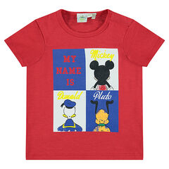 T-shirt met korte mouwen en print met Disney personages