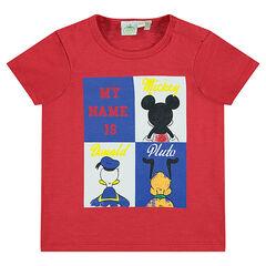 Tee-shirt manches courtes avec print personnages Disney