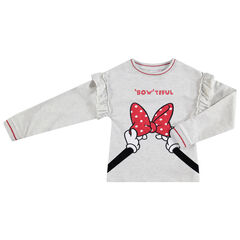 Sweat en molleton avec détails Minnie Disney brodés