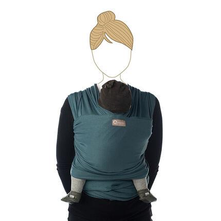 Porte-bébé Tricot-Slen Bio - Dark Sapphire
