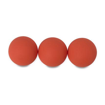 Set de 3 balles pour jeu de raquettes de plage