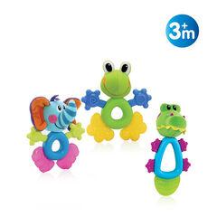 Funpal Koelbijtfiguren Olifant, kikker of krokodil 3m+
