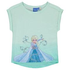 Tee-shirt manches courtes Disney La Reine des Neiges