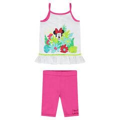 Set met Disney Minnie tuniek en kniebroek