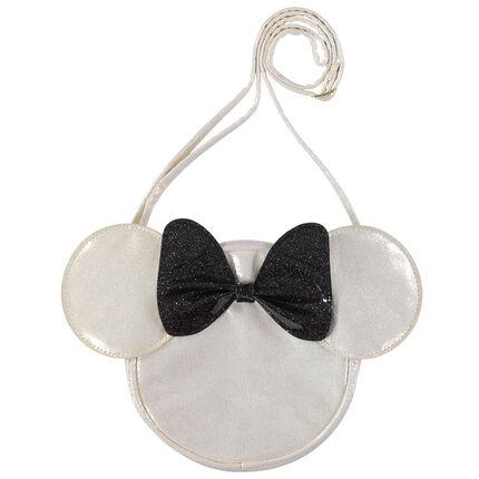 Sac bandoulière Minnie Disney avec noeud pailleté
