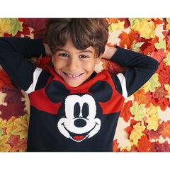 Pull en tricot bicolore motif Mickey Disney , Orchestra