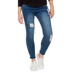 Jeans de grossesse effet used et crinkle