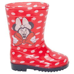 "Rubberen regenlaarzen met bolletjes ""all-over"" Disney Minnie van 24 tot 29"