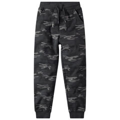 Junior - Pantalon de jogging en molleton imprimé army all-over