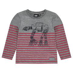 Sous-pull en jersey rayé avec print robot Star Wars™