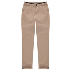 Junior - Pantalon en twill à poches