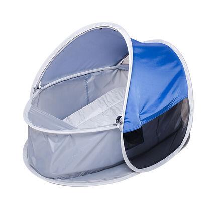 Tente couffin 2 en 1 anti-UV - Bleu