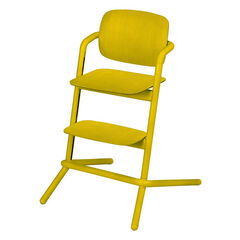 Kinderstoel LEMO in hout - Canary Yellow