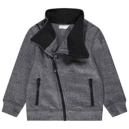 Junior- Gilet en molleton avec poches zippées