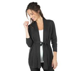 Zwangerschapsvest van tricot zonder knopen