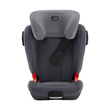Autostoel isofix Kidfix XP SICT groep 2/3 Black Series - Storm Grey