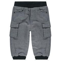 Pantalon en molleton à poches doublé micropolaire