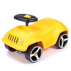Loopauto Wildee auto - Geel