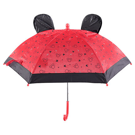 Paraplu met inzetstukken van Mickey en reliëforen