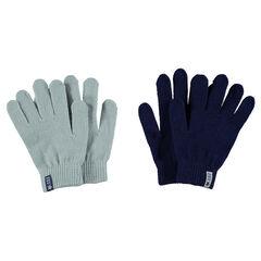 Set van 2 paar handschoenen in tricot