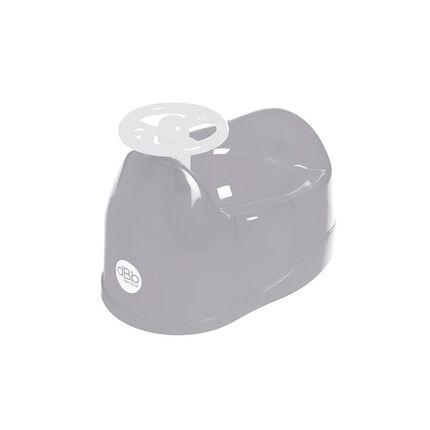 Pot avec volant - Gris translucide