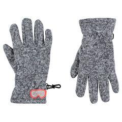 Gants magiques extensibles en tricot chiné