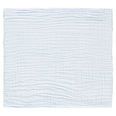 Couverture en coton unie 95x95 cm