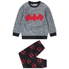 Pyjama van fleece met logo's van Warner Batman