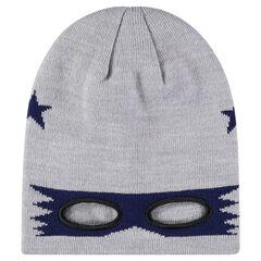 Bonnet masque en tricot