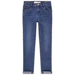 Jeans skinny effet crinkle