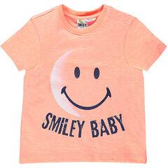Tee-shirt manches courtes avec print ©Smiley