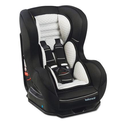 Autostoel Quilt Groep 0/1/2 (van 0 tot 25 kg) - Zwart