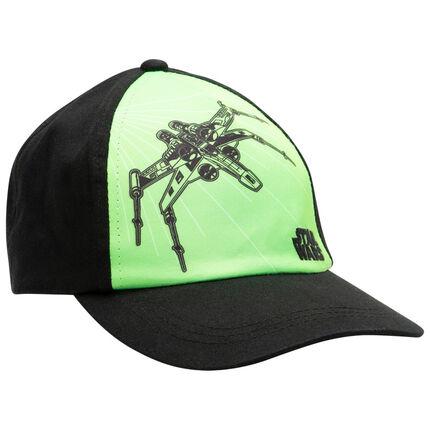 Casquette en twill Star Wars verte/noire