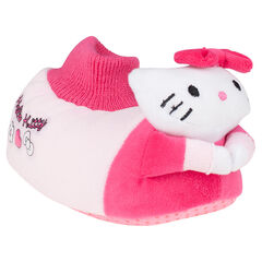 Chaussons peluche Hello Kitty