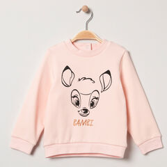 Sweat en bord-côte print Bambi Disney
