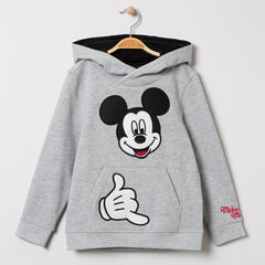 Sweat en molleton à capuche motif Mickey Disney