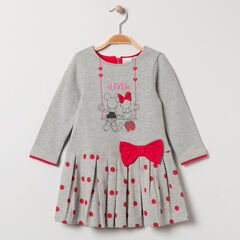 Robe manches longues en maille print Mickey et Minnie Disney , Orchestra