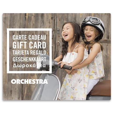 Offrez la carte cadeau Orchestra et faites plaisir à coup sûr duoFilles
