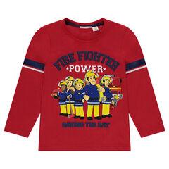 T-shirt van jerseystof met personages van Brandweerman Sam 2 van ©Prism Art en Design Limited