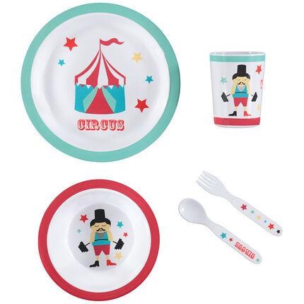 Set repas Circus - 5 pièces