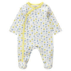 "Pyjama van biokatoen met Smiley-print ""all-over"""